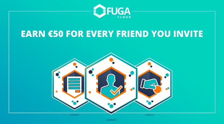 Earn €50 for every friend you invite